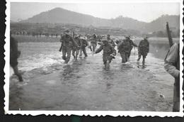 Tonkin Vietnam Indochine Laos 5 Janvier 1951 Militaire Départ Opération Tien Yen - Dokumente