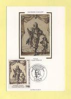 Carte Maximum Sur Soie - N°2761 - Jacques Callot - 1990-99