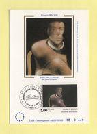 Carte Maximum Sur Soie - N°2779 - Francis Bacon - 1990-99