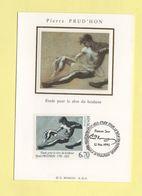Carte Maximum Sur Soie - N°2927 - Pierre Prud'hon - 1990-99