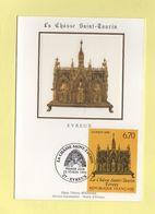 Carte Maximum Sur Soie - N°2926 - La Chasse Saint Taurin - 1990-99