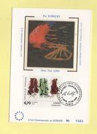 Carte Maximum Sur Soie - N°2969 - Kirkeby - 1990-99