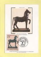 Carte Maximum Sur Soie - N°3014 - Tresor De Neuvy En Sullias - 1990-99