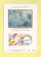 Carte Maximum Sur Soie - N°3050 - Bernard Moninot - 1990-99