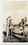 CPA Indiens Amérique Carte Photo Type Circulé - Native Americans