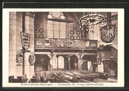AK Wilhelmshaven-Rüstringen, Teilansicht Der Evang. Garnisonkirche - Wilhelmshaven