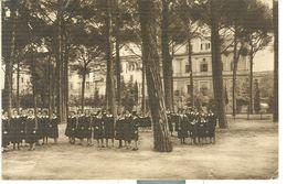 ROMA, ISTITUTO DELL 'ASSUNZIONE, B/N,ANIMATA,VIAGGIATA  1943,TIMBRO POSTE ROMA - Enseignement, Ecoles Et Universités