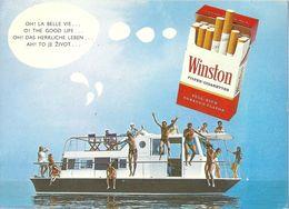 Winston Cigarettes - Oh ! Das Herrliche Leben...          Ca. 1970 - Publicité