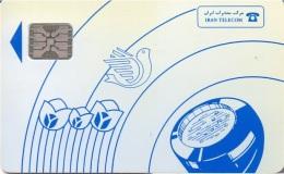 IRAN : IRAS01A SI-5    Blue   IRAN Telecom USED - Iran