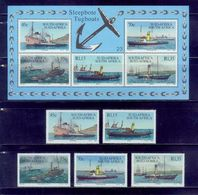 Rsa /1994 Commercial Ships 5s+s/s /very Nice - Ships
