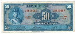 Mexico 50 Pesos 1972,  Crisp VF+. - Mexico