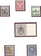Luxembourg: Yvert N° 392/397**; MNH - Luxembourg
