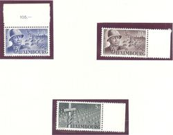 Luxembourg: Yvert N° 399/401**; MNH - Luxembourg