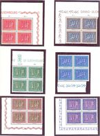 Luxembourg: Yvert N° 476/481**; MNH; Vo - Luxembourg