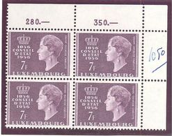 Luxembourg: Yvert N° 519**; MNH; - Luxembourg