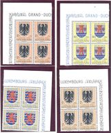 Luxembourg: Yvert N° 520/526; Armoiries; Voir Les 2 Scans - Luxembourg