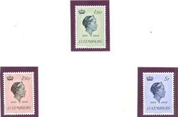 Luxembourg: Yvert N° 559/561**; MNH; - Luxembourg