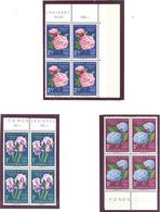 Luxembourg: Yvert N° 564/566**; MNH; Fleurs - Luxembourg