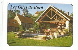 Cp, Les GITES De BORD , 03 , Allier , DOYET , Vierge - Hotels & Restaurants