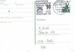 Deutschland Werbestempel Göppingen - Schwäbische Woche - Storia Postale