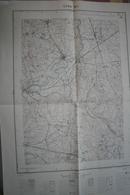 Carte 1/20 000° IGN Publ. 1951 Ouest De Lyon: Chazay, Civrieux, La Tour De Salvagny - Bon état - Topographical Maps