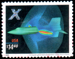 USA 2006 Airjet,  Postally Used - Stati Uniti