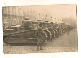NANCY 11 Novembre 1922 Carte Photo 513 Eme RCC Char De Combat Chars Renault Place De La Carrière - Nancy