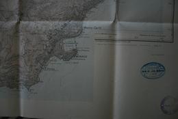 MENTON S.O. / MONACO (+ Peille-Ste-Agnès-Roquebrune) Carte 1/20 000° Sce Géo. Armée- Tirage 1926- Bon état - Topographical Maps