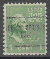 USA Precancel Vorausentwertung Preo, Locals Ohio, Yellow Springs 704 - Vereinigte Staaten