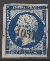 PC   1031  CREST   (  25  -  DROME  ) - Storia Postale (Francobolli Sciolti)