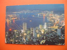 An Evening View Towards To The Victoria Bay - Cina (Hong Kong)