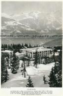Photo (1968) : COURCHEVEL (Savoie) Les Stations De Ski Entre Et 1.300 Et 1.850 Mètres L'hiver - Sin Clasificación