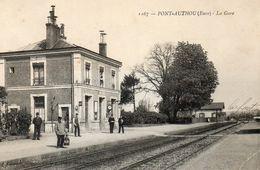 PONT AUTHOU La Gare - France