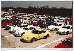 21  Dijon ,Prenois -  CONCENTRATION  CLUB  PORSCHE FRANCE - 911   CIRCUIT  DIJON  PRENOIS    EN 1980 - Motorsport