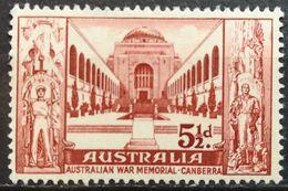 Australia 1958 MNH Australian War Memorial Canberra - 1952-65 Elizabeth II : Pre-Decimals