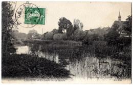 CPA (Réf :H473) 23. CHABLIS (YONNE 89) Le Serein Vers Le Moulin ND Phot - Chablis