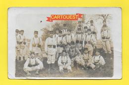 CPA 54 TOUL Groupe De Soldats En Uniforme 1912  ( Oblitération TOUL Semeuse 10 C Lignée FM ) - Toul