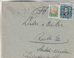Lituanie - Lettre De 1930 - Oblit Kaunas - Exp Vers Reuth - Lithuania