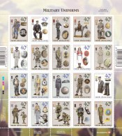 New Zealand 2003 Military Uniforms Sheet MNH - See Notes - New Zealand