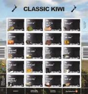 New Zealand 2007 Classic Kiwi Sheet MNH - New Zealand