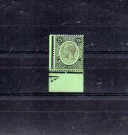 HONDURAS BRITANNIQUE 101* BORD DE FEUILLE  CHARNIERE QUASI INVISIBLE - British Honduras (...-1970)