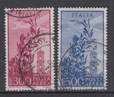 ITALIË - Michel - 1956 - Nr 963/64 - Gest/Obl/Us - 6. 1946-.. Repubblica
