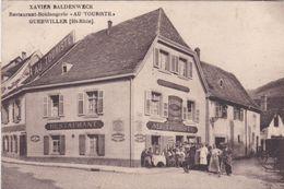 "Alte Ansichtskarte Aus Guebwiller -Restaurant-Boulangerie ""Au Touriste"" - Guebwiller"