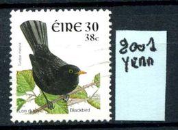 EIRE - IRLANDA - Year 2001 - Usato - Used - Utilisè - Gebraucht. - 1949-... Repubblica D'Irlanda