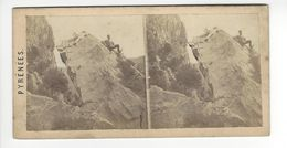 PHOTO PYRENEES PHOTO STÉRÉO CIRCA 1860 N°114 /FREE SHIPPING REGISTERED - Photos Stéréoscopiques