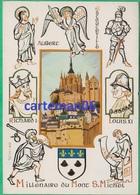 50 - Le Mont Saint Michel - Millénaire - Editeur: Emge (blason) - Le Mont Saint Michel