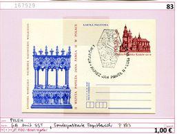 Polen - Poland - Pologne - Michel Ganzsache P 863 Mit Sonderstempel - Papstbesuch 1983 - 1944-.... Republik