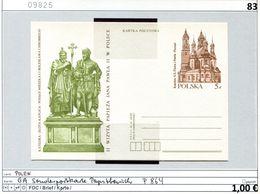 Polen - Poland - Pologne - Michel Ganzsache P 864 - ** Mnh Neuf Postfris - Papstbesuch 1983 - 1944-.... Republik