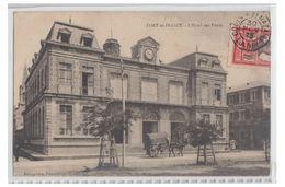 """FRANCE--MARTINIQUE--POSTE MARITIME--CARTE POSTALE OBLITEREE """"COLON A ST NAZAIRE  L.A. N°1"""" --VERS LA BELGIQUE--1913-- - Martinique (1886-1947)"""