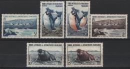 T.A.A.F. 1956 Y.T. 2/7 **/MNH VF - Terre Australi E Antartiche Francesi (TAAF)